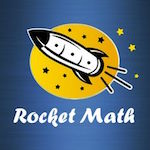 Rocket Math logo
